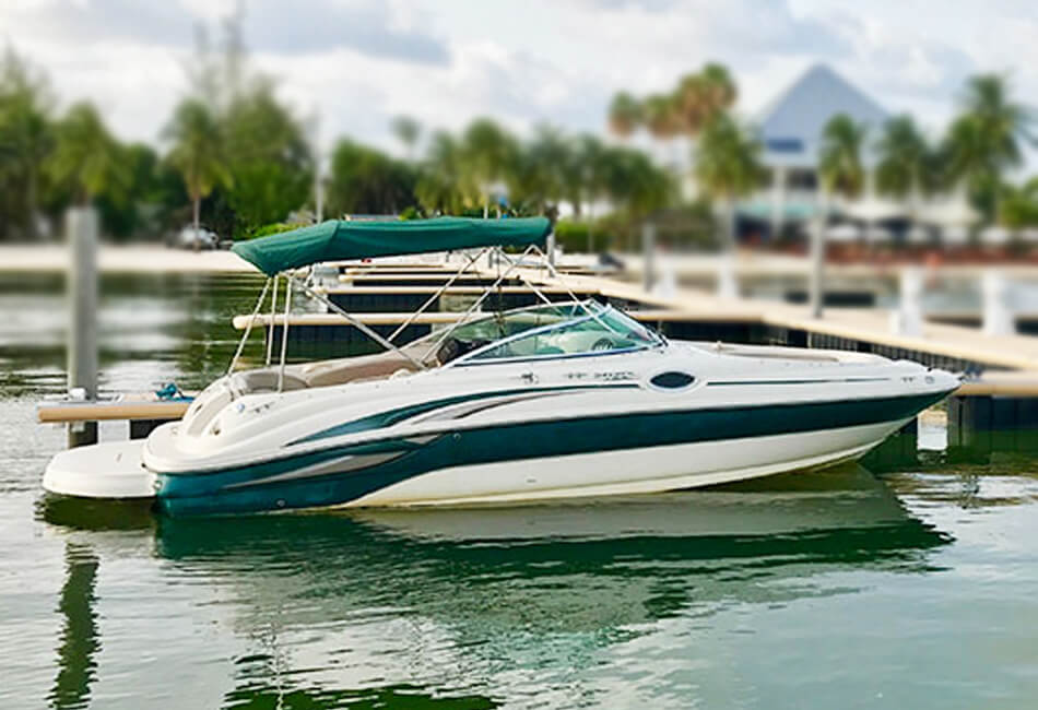 24 ft Sea Ray Sundeck