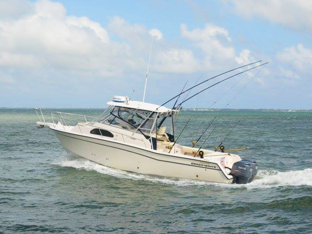 30 ft Grady White With Twin 250 HP