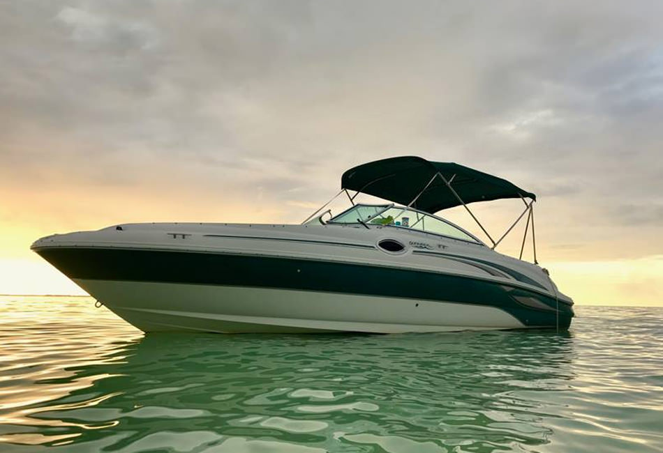 24ft Sea Ray Sundeck