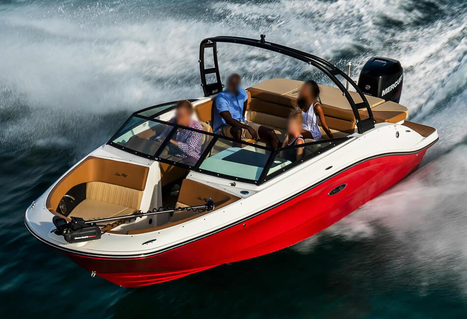 22ft SeaRay Sports Boat